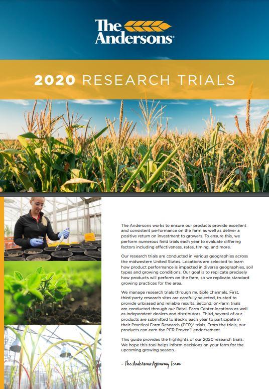 2020 Research Trials Brochure
