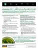 The Andersons Technical Bulletin 63 Managing Fertilizer Application for Profit