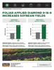 The Andersons Technical Bulletin 03 Foliar Applied Diamond 9-18-9 Increases Soybean Yield