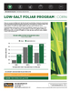 The Andersons Technical Bulletin 05 Low Salt Foliar Program