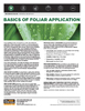 The Andersons Technical Bulletin 07 Basics of Foliar Application