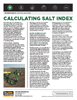 The Andersons Technical Bulletin 09 Calculating Salt Index