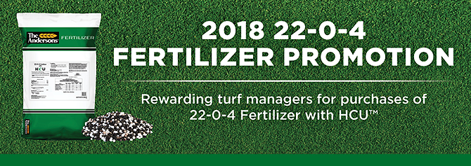 The Andersons Fall The 22-0-4 Fertilizer Promotion